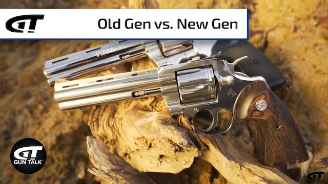 Colt Python - Old vs. New