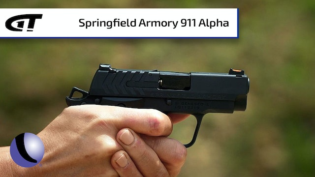 Springfield 911 Alpha for Every Day Carry