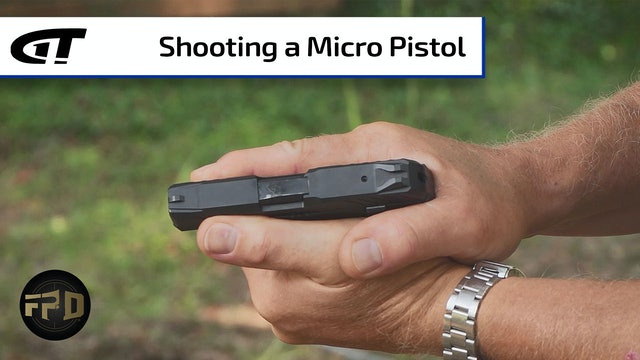 Controlling a Micro Pistol | First Person Defender Bonus