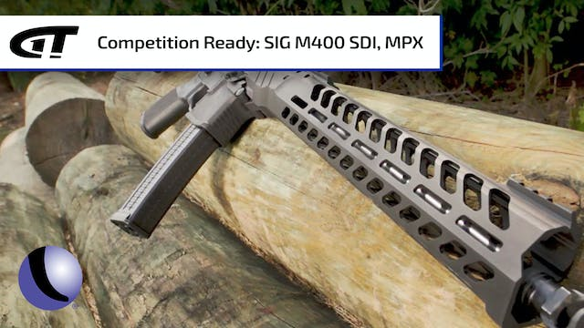 Competition Ready Rifles - Sig's M400...
