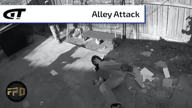Man Attacked in Alley