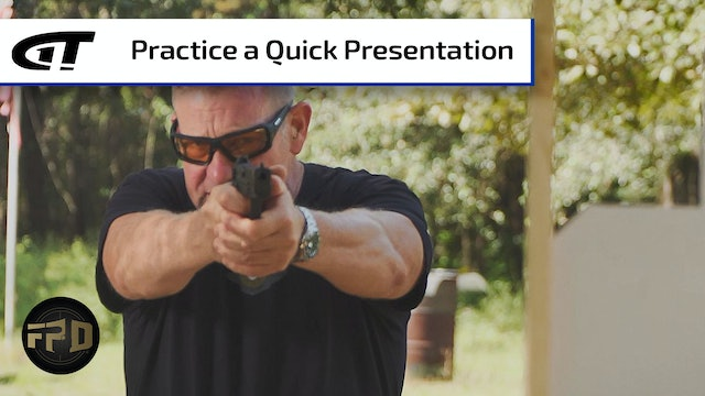 Pistol Presentation - From Holster to Target