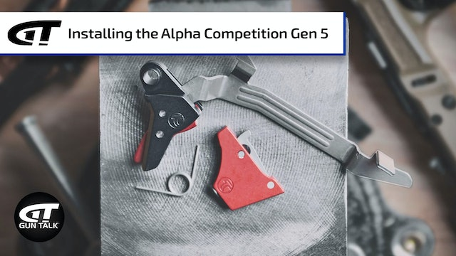 Installing the Timney Alpha Competition Gen 5 Trigger