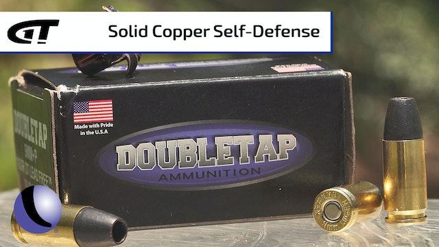 DoubleTap Ammo's All-Copper Defense Loads