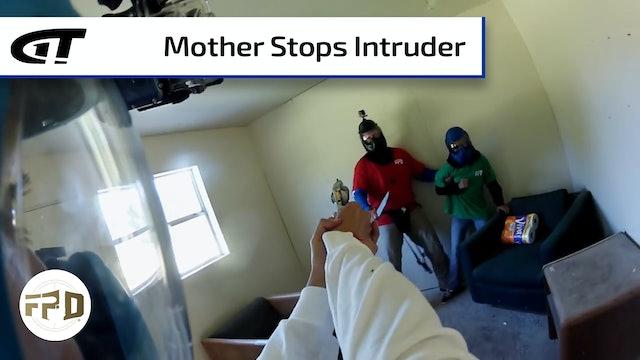 Family Interrupts Burglary
