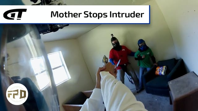 Family Interrupts Burglary