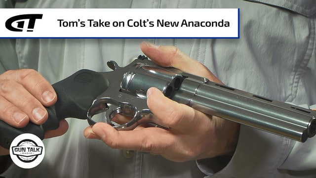 Comparing the Old and New Colt Anacondas