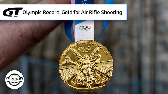 Olympic Record, Gold Medal for Will Shaner