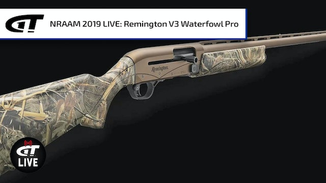 Remington V3 Waterfowl Pro and Peters Premier Blue Steel High Velocity