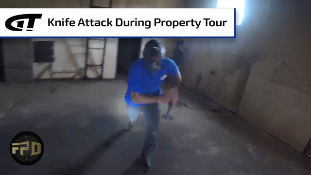 Contractor Attacked by Trespasser