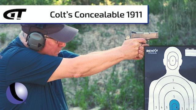 Colt 1911 Defender for Concealed Carry