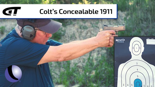 Colt 1911 Defender for Concealed Carry