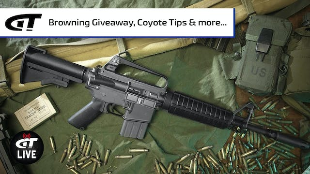 Coyote Hunting Tips; Benchmade; Win a...