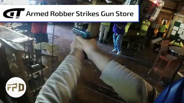 Gun Store Robbery Turns Into Gunfight
