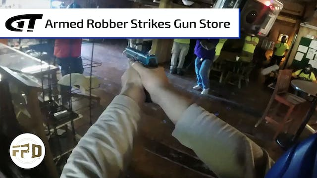 Gun Store Robbery Turns Into Gunfight
