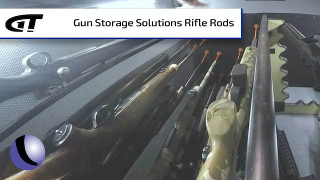 Max Gun Safe Space with Gun Storage Solutions Rifle Rods