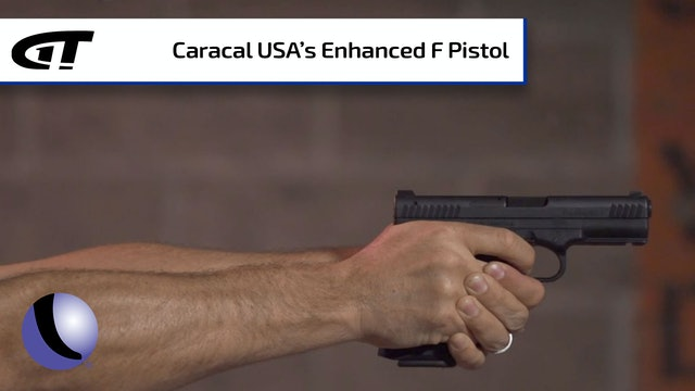 Caracal's Enhanced F Pistol for a Smooth Shot