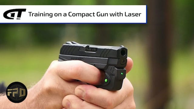 Lasers on Little Guns for Training, S...