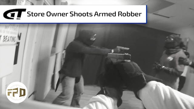 Store Owner Shoots Armed Robber