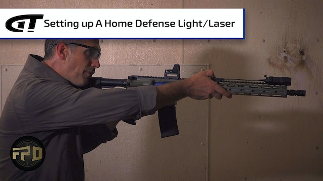 Setting Up a Home Defense Light & Laser Combo