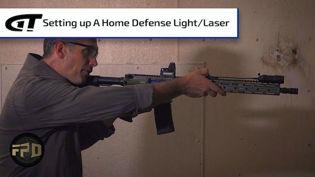 Setting Up a Home Defense Light & Las...