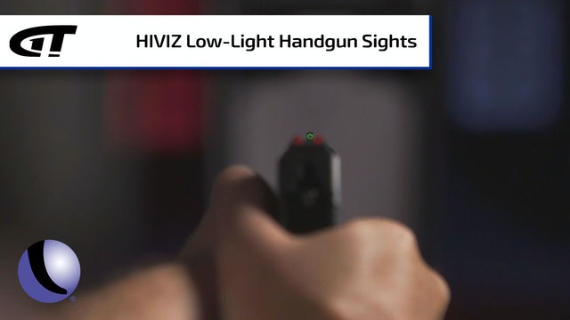 HIVIZ Handgun Sights for Low-Light Situations