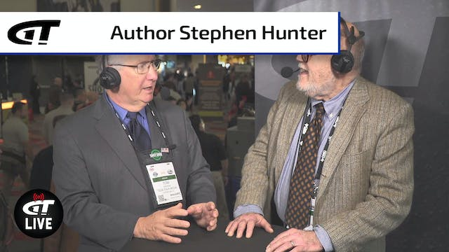 Best-Selling Author Stephen Hunter