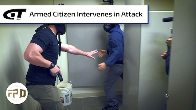 Armed Citizen Intervenes in Public Restroom Attack