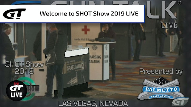 Welcome to SHOT Show 2019