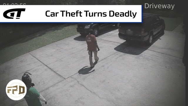 Car Theft Turns Deadly in the Driveway
