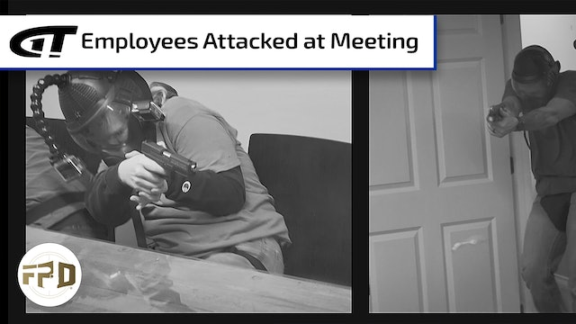 Employees Attacked at Morning Meeting