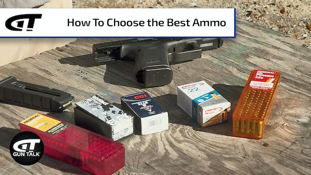 Gun 101: Finding the Right .22 Ammo