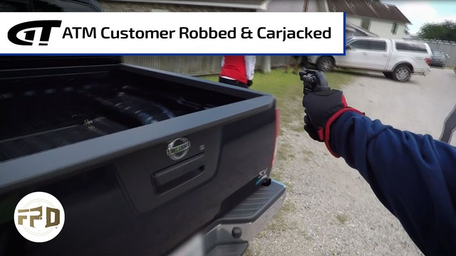 Two Men Rob ATM Customer and Steal His Car