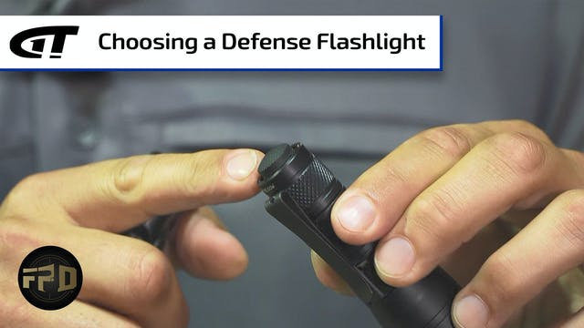 How To Choose a Flashlight for Defense