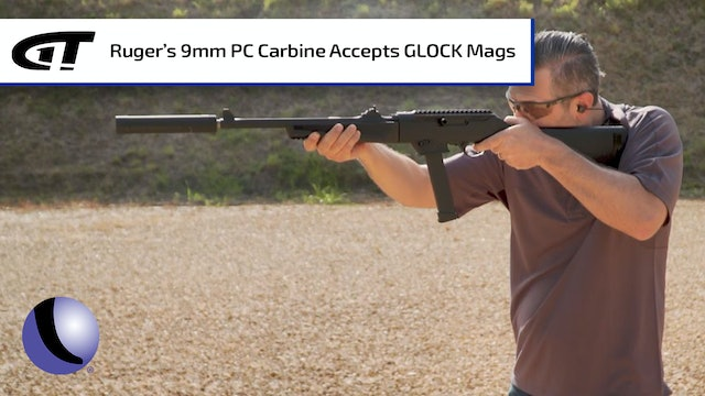 Ruger's 9mm PC Carbine Takes GLOCK Mags