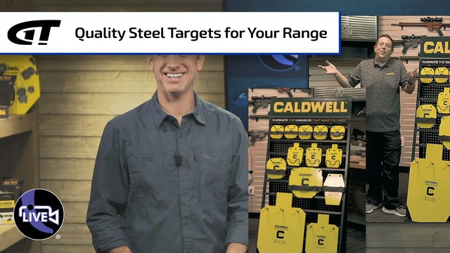 A Lifetime of Caldwell Steel Targets