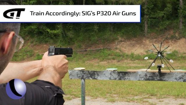 SIG P320 Air Gun - Ready to Train!