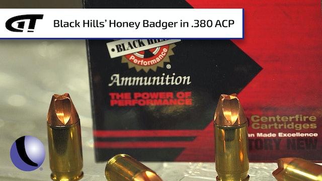 Black Hills Honey Badger .380 ACP Ammunition