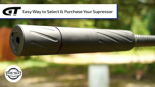 Easiest Way to Buy a Suppressor