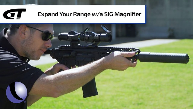 Stretching your SIG Red Dot with a Magnifier