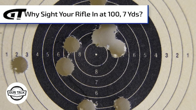 Lever-Actions are MIA, plus a Rifle Sight-In Tip