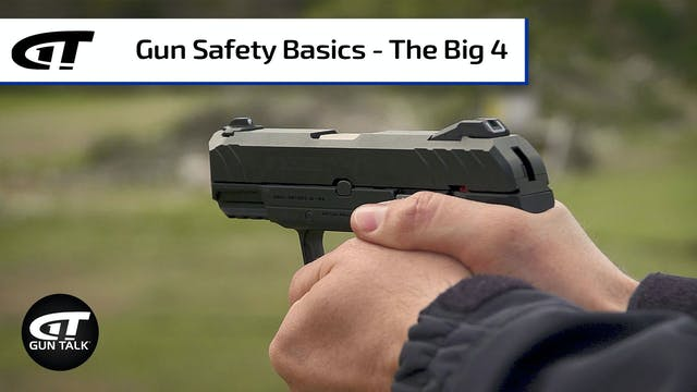 Gun 101: The Four Rules of Gun Safety