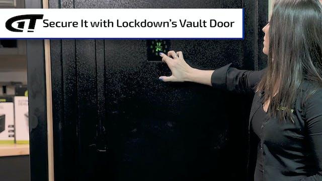 Lockdown Vault Door