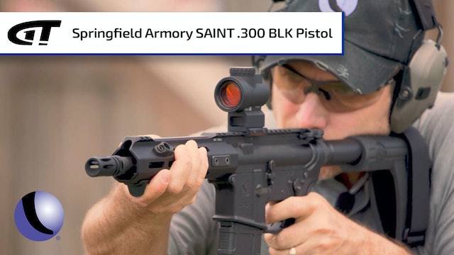 Home Defense Ready - Springfield Armory's .300 BLK SAINT Pistol