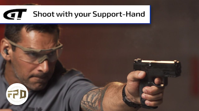 How To Shoot a Gun with your Support-Hand Only