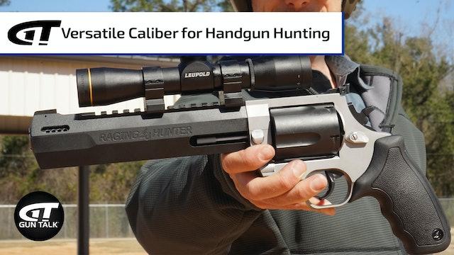 New Power Caliber for Taurus Raging Hunter Revolver