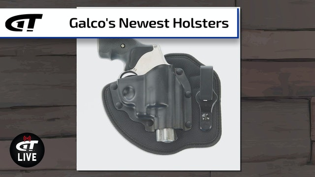 Galco's Newest Holsters - QuickTuk Cloud, Switchback, and More