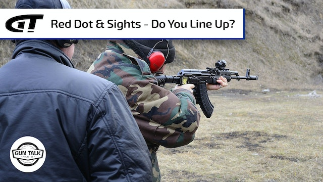 Are You Supposed to Line Up Iron Sights & Red Dot Optic?