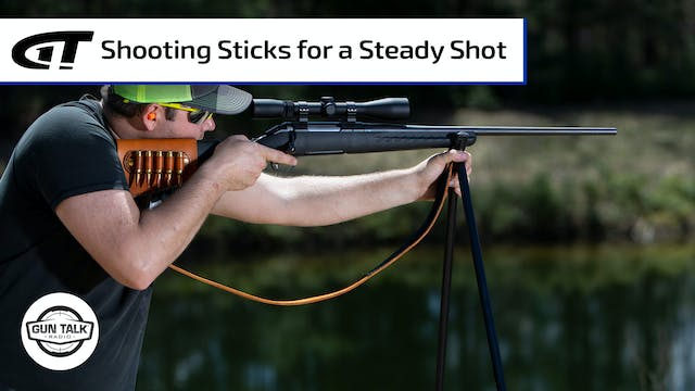 Better Shots with Shooting Sticks?