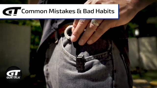 Blade School Prep: Avoiding Common Mistakes when Carrying a Knife